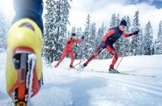 Das weitläufige Langlaufloipennetz des Lungaus mit beschneiten Loipen