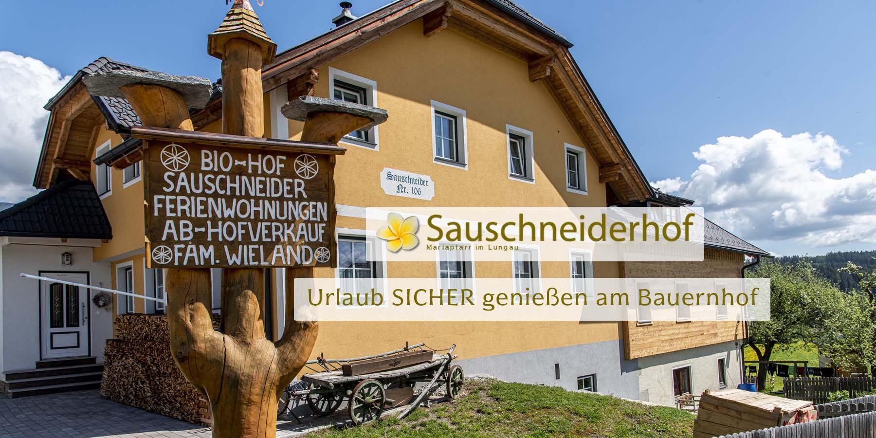 Sauschneiderhof - Wieland - Mariapfarr